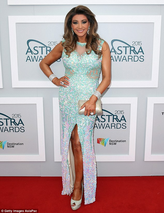 Impersonated: Real Housewives Of Melbourne star Gina Liano has gone to the police claiming a person has been pretending to be her online and stalking her