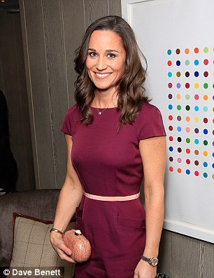 Spotted: Pippa Middleton is said to have been buying up the mull-cloth nappies in Geneva
