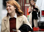 Picture Shows: Emma Stone  November 12, 2015    Actress Emma Stone out and about in New York City's West Village. Emma dressed casually in a beige coat over a maroon sweater and black skinny jeans.    Exclusive All Rounder  UK RIGHTS ONLY  Pictures by : FameFlynet UK © 2015  Tel : +44 (0)20 3551 5049  Email : info@fameflynet.uk.com