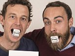 James Middleton (right) and Andy Bell from Boomf. Boomf allows you to print your Instagram images on to marshmallows.  Picture by Daniel Hambury/Stella Pictures Ltd +44 7813 022858 26/03/2014