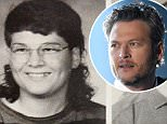 EXCLUSIVE. COLEMAN-RAYNER. \nAda, OK. USA. November 13, 2015. \nUnrecognizable from the groomed country star he's famed for now... this is Blake Shelton as you've never seen him before.\nWith a greasy mullet and thick-framed glasses Shelton could barely bag a date in his teens.\nThese exclusive pictures were taken during his time at high school in Ada, Oklahoma, from 1992 until 1994 when he eventually moved to Nashville to pursue his music ambitions. \nCREDIT LINE MUST READ: Coleman-Rayner\nTel US (001) 323 545 7548 - Moblie \nTel US (001) 310 474 4343 - Office\nwww.coleman-rayner.com