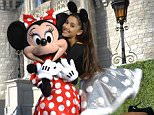 """Pop princess Ariana Grande and singer Jason Derulo led the celebrity Christmas cheer at Disney World this week. The stars were joined by Andy Grammer, Charles Perry and JhenÈ Aiko for the taping of """"Disney Parks Unforgettable Christmas Celebration"""" at Walt Disney World Resort in Florida on November 12.   Pictured: ariana grande Ref: SPL1174893  131115   Picture by: Disney/Splash News  Splash News and Pictures Los Angeles: 310-821-2666 New York: 212-619-2666 London: 870-934-2666 photodesk@splashnews.com"""
