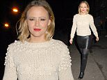 Kimberley Walsh Leaving the Dominion Theatre after performing in Elf the Musical  Pictured: Kimberley Walsh Ref: SPL1176410  131115   Picture by: Splash News  Splash News and Pictures Los Angeles: 310-821-2666 New York: 212-619-2666 London: 870-934-2666 photodesk@splashnews.com