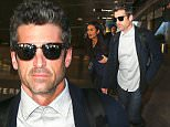 """Picture Shows: Patrick Dempsey  November 13, 2015\n \n Actor Patrick Dempsey arrives at LAX airport in Los Angeles, California. There has been speculation as to why Patrick's character, Derek, was killed off """"Grey's Anatomy"""" last season, as some believe it was because Shonda Rhimes did not like him.\n \n Non-Exclusive\n UK RIGHTS ONLY\n \n Pictures by : FameFlynet UK © 2015\n Tel : +44 (0)20 3551 5049\n Email : info@fameflynet.uk.com"""