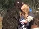 Heidi and Seal  share a kiss at the kids soccer game in Brentwood . Saturday, November 14, 2015  X17online.com