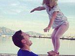 For Diary - DO NOT lighten childs face. Brendan Cole and daughter. Posted on Instagram account of https://instagram.com/p/9_DSHwgOlK/