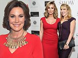 """NEW YORK, NY - DECEMBER 10:  Sonja Morgan and Ramona Singer attend as Sonja Morgan celebrates the cover of Latino Show Magazine """"The Anniversary Issue"""" at Vanessa Noel Couture on December 10, 2014 in New York City.  (Photo by Daniel Zuchnik/Getty Images)"""