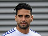 Chelsea Press conference and training 31/07/15: Kevin Quigley/Daily Mail/Solo Syndication Falcao