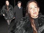 14.11.15...... The David Beckham UNICEF Party at Australasia Bar & Restaurant  in Manchester on Saturday night.......Dave Gardner and Liv Tyler.