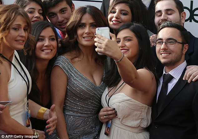 Seflies with Salma: The group tried to document the moment that Lebanon held its first world premiere
