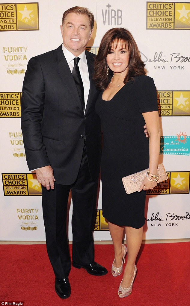Happy again: Marie Osmond told Closer Weekly that she is happy with Steve Craig who she married for the second time in 2011; here they are pictured in June 2013
