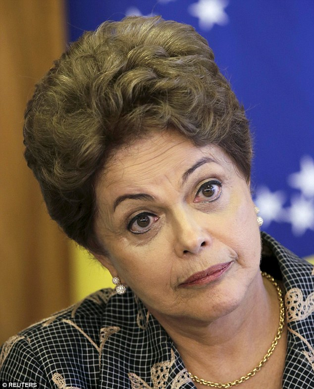 Political big hitter Dilma Rousseff, 67, became the first female president of Brazil in 2010