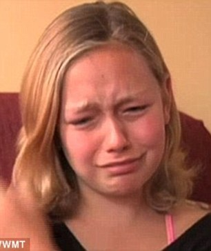 When Rose found out that she had been kicked out of the school, she tearfully said that she 'didn't do anything wrong'