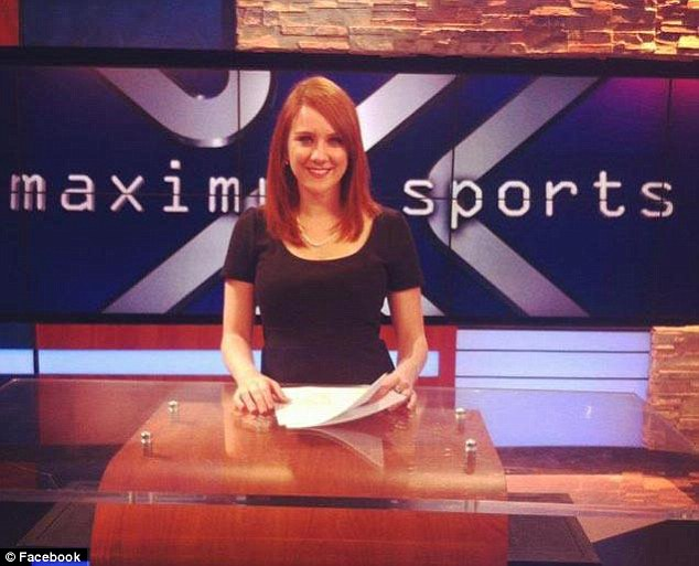 The redhead covered the Colorado Avalanche for a sports radio station and did production work for Altitude Sports, a Denver TV network.She also wrote about hockey for blogs
