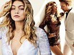 Supermodel Gigi Hadid and actor Domhnall Gleeson take a delicate, old-world lace break away to Porto, Portugal with a spicy next-generation spin. From femme-fatale dresses embellished with dragonflies to high-rise bikinis exemplifying the art, Gigi turns up the heat for her dapper partner Gleeson and photographer Mario Testino. \nhttp://www.vogue.com/slideshow/13368194/gigi-hadid-domhnall-gleeson-lace/\n