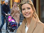 November 14, 2015: Ivanka Trump and her husband Jared Kushner and daughter Arabella Rose are photographed this morning heading to the Comopolitan magazine event, Cosmopolitan Fun Fearless life in New York City.Picltured Here: Ivanka Trump.\nMandatory Credit: Elder Ordonez/NFphoto.com Ref: infusny-160