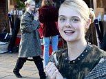 Mandatory Credit: Photo by MCPIX/REX Shutterstock (5367708c)\n Elle Fanning\n 'How to Talk to Girls at Parties' on location filming, Sheffield, Britain - 13 Nov 2015\n \n