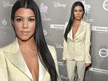 CULVER CITY, CA - NOVEMBER 14: TV personality Kourtney Kardashian attends the 2015 Baby2Baby Gala presented by MarulaOil & Kayne Capital Advisors Foundation honoring Kerry Washington at 3LABS on November 14, 2015 in Culver City, California.  (Photo by Charley Gallay/Getty Images for Baby2Baby)