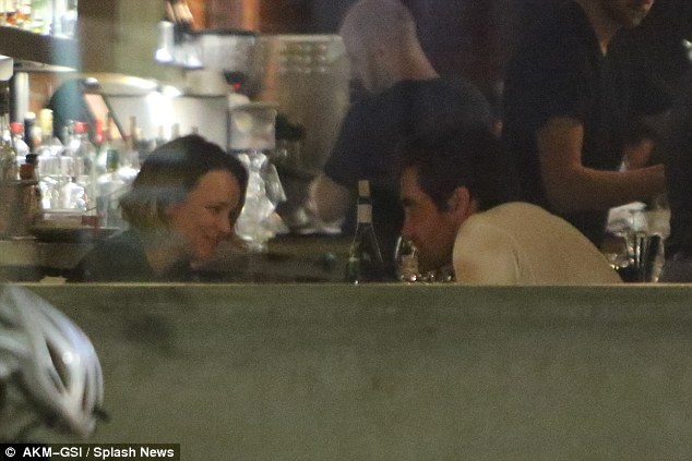 Just friends? The pair were spotted dining out last week at Odys + Penelope in Los Angeles