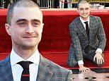 Mandatory Credit: Photo by Buckner/Variety/REX Shutterstock (5363502d)\n Daniel Radcliffe\n Daniel Radcliffe honoured with a Star on the Hollywood Walk of Fame, Los Angeles, America - 12 Nov 2015\n \n