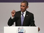 ANTALYA, TURKEY - NOVEMBER 16:  U.S President Barack Obama speaks to the media during his closing press conference on day two of the G20 Turkey Leaders Summit on November 16, 2015 in Antalya, Turkey. World leaders will use the summit to discuss issues including, climate change, the global economy, the refugee crisis and terrorism. The two day summit takes place in the wake of the massive terrorist attack in Paris which killed more than 120 people.  (Photo by Chris McGrath/Getty Images)