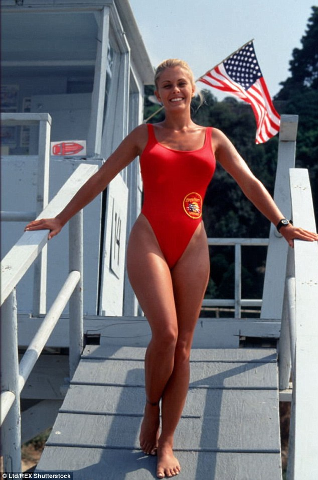Flashback: Nicole was known for her curvy figure on Baywatch in which she played sporty Summer Quinn