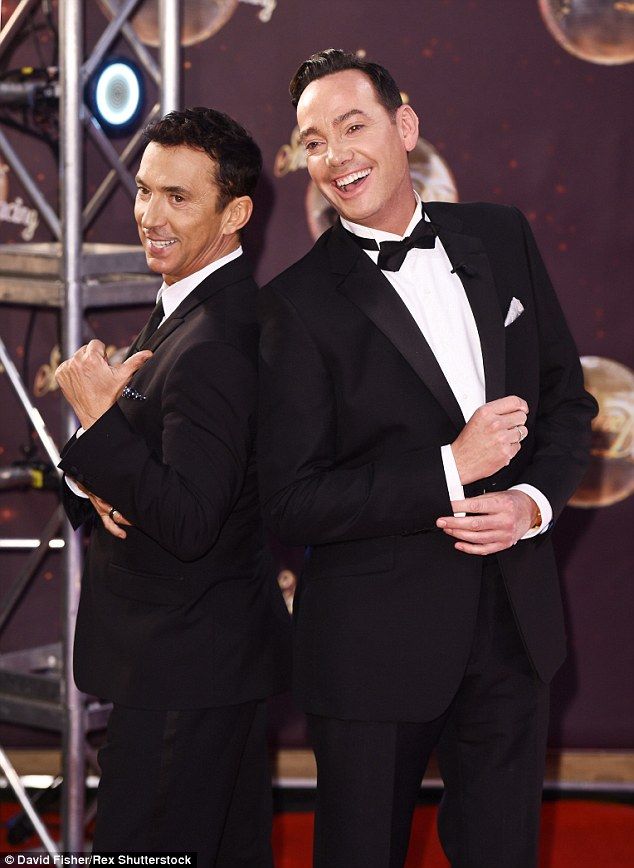 Hot topic: The subject is not a new one; Strictly judge Craig Revel-Horwood recently claimed same-sex dance duos would be introduced in the next two years