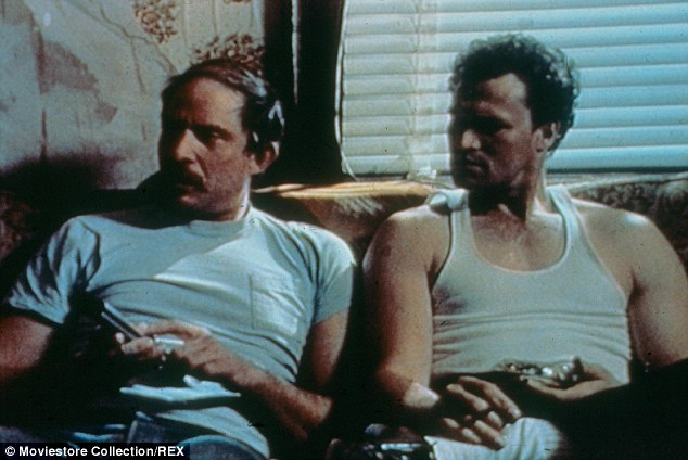 His legacy: Tom (left) may be best known for his role in the 1986 critically lauded horror film, Henry: Portrait Of A Serial Killer,based on the true life serial killer, Henry Lee Lucas