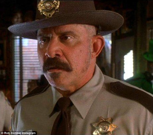 Rest in peace: Tom Towles, pictured asLieutenant George Wydell in Rob Zombie's House of 1000 Corpses, has passed away at age 65