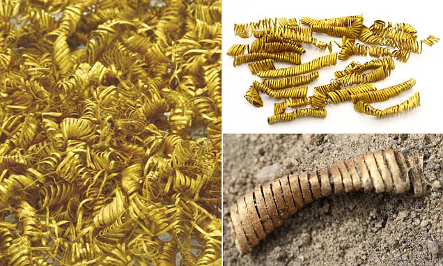 2,000 mysterious Bronze Age gold spirals are unearthed in Demark
