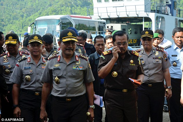 MrPrasetyo (second right) said that 'all the shots were done perfectly' at the execution