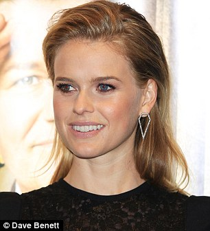 Alice Eve made controversial statements towards Bruce Jenner