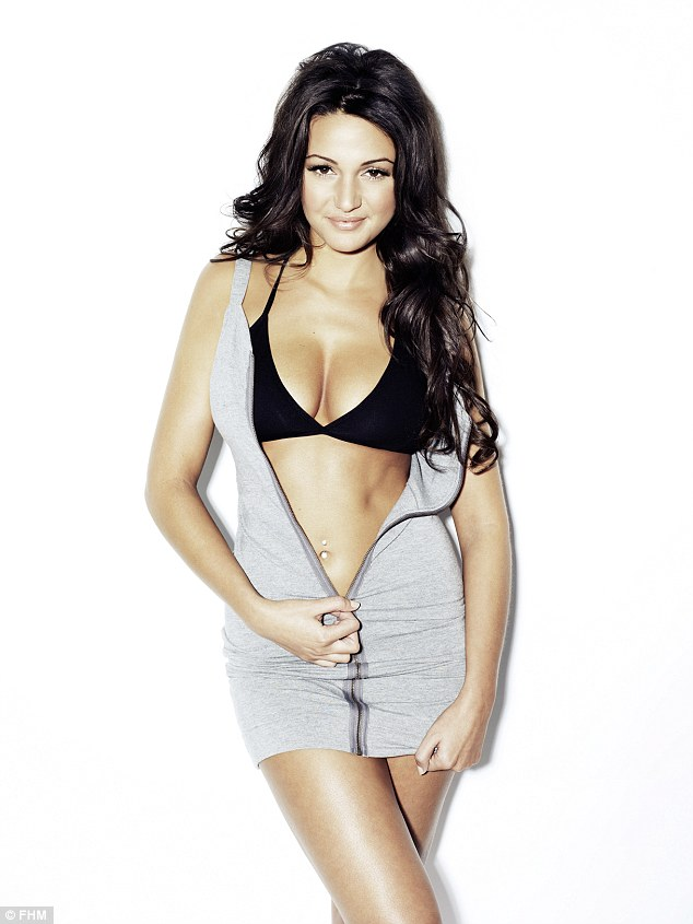 Only yesterday Michelle Keegan was awarded the coveted title of World's Sexiest Woman by FHM