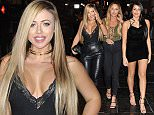 Picture Shows: Holly Hagan, Charlotte Crosby, Marnie Simpson  November 16, 2015    **VIDEO ALSO AVAILABLE**     The cast of 'Geordie Shore' were spotted filming at Tup Tup Palace, a nightclub in Newcastle, England.    After filming it all kicked off between Marnie Simpson and Chloe Ferry. Marnie and Chloe were supposedly arguing over new lad Martin McKenna. Security stepped in along with Nathan Henry and wrestled Marnie into a waiting mini-bus.    Marnie can be seen being flung into the minibus with her dress around her waist and knickers showing! The rest of the cast were also at the club and were pictured entering and leaving the club. Marnie and Chloe were seperated and both left in separate taxis.     **VIDEO ALSO AVAILABLE**     Exclusive - All Round  WORLDWIDE RIGHTS    Pictures by : FameFlynet UK © 2015  Tel : +44 (0)20 3551 5049  Email : info@fameflynet.uk.com
