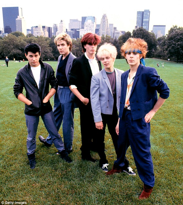 They sure did get around: The British band in New York City in 1981; they are best known for the hit singles Rio and Hungry Like The Wolf