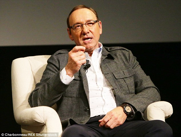 Where I am today: On the same night, the actor attended Netflix's House Of Cards Q&A screening event at the Samuel Goldwyn Theater in Beverly Hills