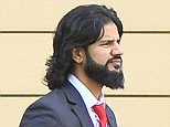 Park View School teacher Inamulhaq Anwar leaves the NCTL building on Butts Road, Coventry. 12/10/15