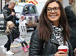 ****KYM GAVE PERMISSION FOR POLLY TO BE PHOTOGRAPHED******* Kym Marsh and boyfriend Matt Baker took her daughter Polly to the Christmas Markets in Manchester city centre on Saturday afternoon.....14.11.15