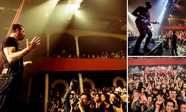 Eagles of Death Metal Paris fans smile before they're murdered in ISIS gunmen attack