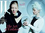 Cate Blanchett graces W¿s December/January cover, photographed by Tim Walker for the magazine¿s annual art and fashion issue.\n \nSee the shoot: http://www.wmagazine.com/people/celebrities/2015/11/perfectly-chic-cate-blanchett/photos/\nRead the story: http://www.wmagazine.com/people/celebrities/2015/11/cate-blanchett-carol-actress/\nDownload images: https://www.hightail.com/download/ZWJVclVIcHZ5UkZFQmNUQw\n \nFor the shoot, Cate transformed into Antoine de Saint-Exupery¿s Little Prince. Many of the clothes she is wearing in the portfolio were created specifically for this shoot, including custom-made pajamas by Prada, dresses by Stella McCartney and Boss, and bloomers by Alberta Ferretti.\n \nIn the interview by Lynn Hirschberg, Cate talks about her role in Carol, the importance of fashion and costume design in her films, and more.\n \nBlanchett still seemed surprised by the mild uproar over the casting of Carol: \n¿Art is supposed to be a provocation, not an education. In 2015, the p