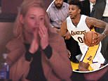Sunday November 15, 2015: Iggy Azalea out at the Lakers game. The Los Angeles Lakers defeated the Detroit Pistons by the final score of 95-85 at Staples Center in downtown Los Angeles, CA. \n\nPictured: Iggy Azalea\nRef: SPL1173317  151115  \nPicture by: London Ent / Splash News\n\nSplash News and Pictures\nLos Angeles: 310-821-2666\nNew York: 212-619-2666\nLondon: 870-934-2666\nphotodesk@splashnews.com\n