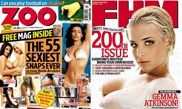 FHM and Zoo to join Loaded and Nuts in closing down as men turn away