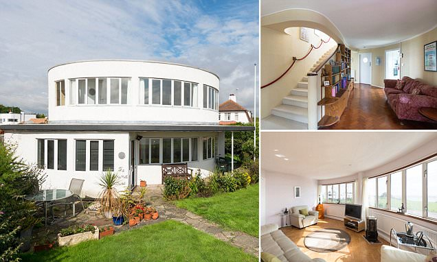 Round House in Frinton Park Estate, Essex goes on the market for £700,000