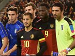 BRUSSELS, BELGIUM - NOVEMBER 13:  Belgium and Italy pose prior to the intermational friendly match between Belgium and Italy at King Baudouin Stadium on November 13, 2015 in Brussels, Belgium.  (Photo by Claudio Villa/Getty Images)
