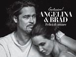 Brad Pitt And Angelina Jolie Snuggle Up On The Cover Of Vanity Fair Italia