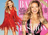 If anything is used online, must link back to: http://www.harpersbazaar.com/culture/features/a12835/kate-hudson-1215/ \n\nQUOTES\nKate Hudson on being single for the first time in five years:\n¿It¿s nice to get acquainted with myself alone. You know, the goal when you get into a relationship is not to be out of the relationship.  It¿s to try to stay in the relationship. But if it doesn¿t work, you can¿t force things.¿ \n\nOn how hard it is to be away from her kids while working:\n¿I think a lot of people, especially when you¿re a woman, you have kids, and work on movies, it¿s hard because you¿re away from them.  There¿s nothing lazy about it. You go to work, get on the first plane home even if it¿s for eight hours, go back to work.  I don¿t want to be away from my family, I love it so much. I just enjoy being on movie sets.¿\n\nOn what she always has in her purse:\n¿I always have Lego men in my purse. When I¿m traveling and I¿m not with my kids, I look in my purse and there are, like,
