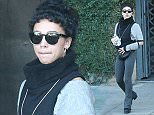 "Picture Shows: FKA Twigs  November 16, 2015    FKA Twigs goes out for coffee with friends in Hollywood, California.  FKA Twigs and Robert Pattinson attended ""China: Through The Looking Glass"" benefit yesterday in light of some recent rumours of being split up.    FKA Twigs was wearing a Chanel bumbag and was wearing an eclectic outfit.    Exclusive All Rounder  UK RIGHTS ONLY  Pictures by : FameFlynet UK © 2015  Tel : +44 (0)20 3551 5049  Email : info@fameflynet.uk.com"