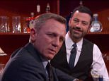 Daniel Craig appears on  'Jimmy Kimmel Live' - November 16, 2015