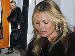 Picture Shows: Kate Moss  November 11, 2015    British Model Kate Moss seen visiting the Beefeater gin distillery..... is the famous London based model lending her name to a new celebrity drink following in the footsteps of other celebs such as, David Beckham, Justin Timberlake and Jude Law.    Kate has been seen twice at the Beefeater gin distillery.    Her rumoured boyfriend Nikolai Von Bismarck is seen leaving her house alone in a waiting taxi in London, England.      Exclusive All Rounder  WORLDWIDE RIGHTS  Pictures by : FameFlynet UK © 2015  Tel : +44 (0)20 3551 5049  Email : info@fameflynet.uk.com