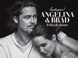 Brad Pitt And Angelina Jolie Snuggle Up On The Cover Of Vanity Fair Italia